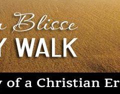 Weekly Walk - My Faith.