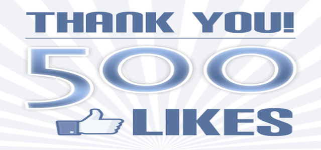 Thank You - 500 Likes