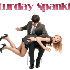 Saturday Spankings #SatSpanks Wallflower from Sexy Just Got Rich @8britbabes