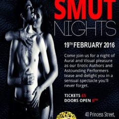 Smut up your 2016 Events for Erotica lovers! @SmutUK
